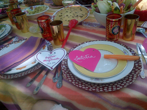 bridesmaids wore flower hair wreaths brunch tables table settings ... & Margherita Missoni | a gypsy wedding \u2013 [existential detective]
