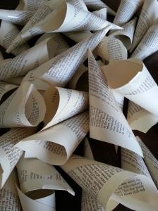 little paper cones