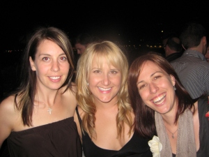 Gracie, Melly, Mands (yes, I have blonde hair here!)