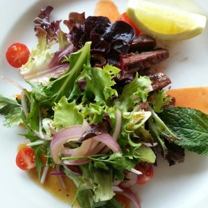 one of the best Thai beef salads in Sydney! @ The Buckland, Alexandria
