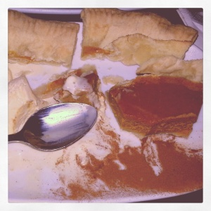 it's a pumpkin pie party!!! tasting the American dessert staple @ Blue Plate Bar + Grill