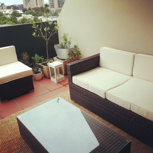 our new outdoor furniture arrived! just in time for summer!