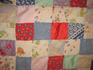 my woobie (aka baby blanket)