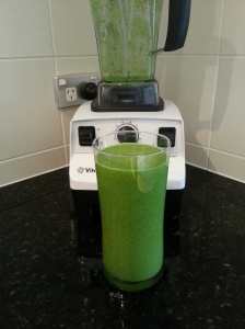use a Vitamix for uber smooth awesomeness