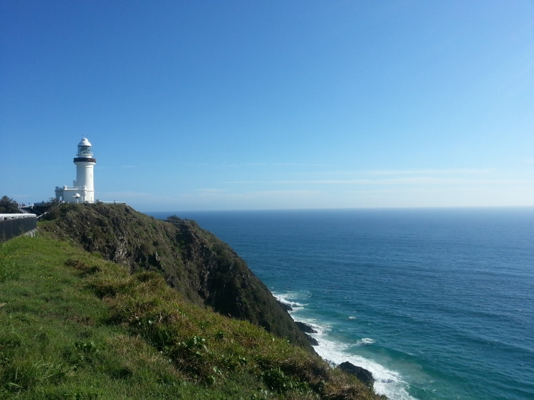 Cape Byron; most easterly point in Australia