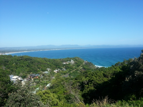 view from Cape Byron