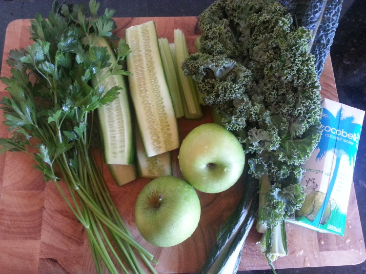 green smoothie ingredients
