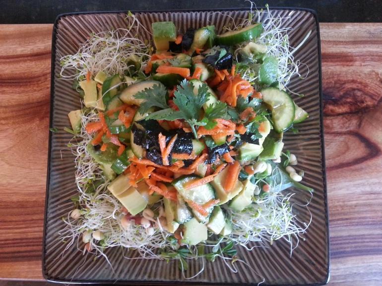 super seaweed salad