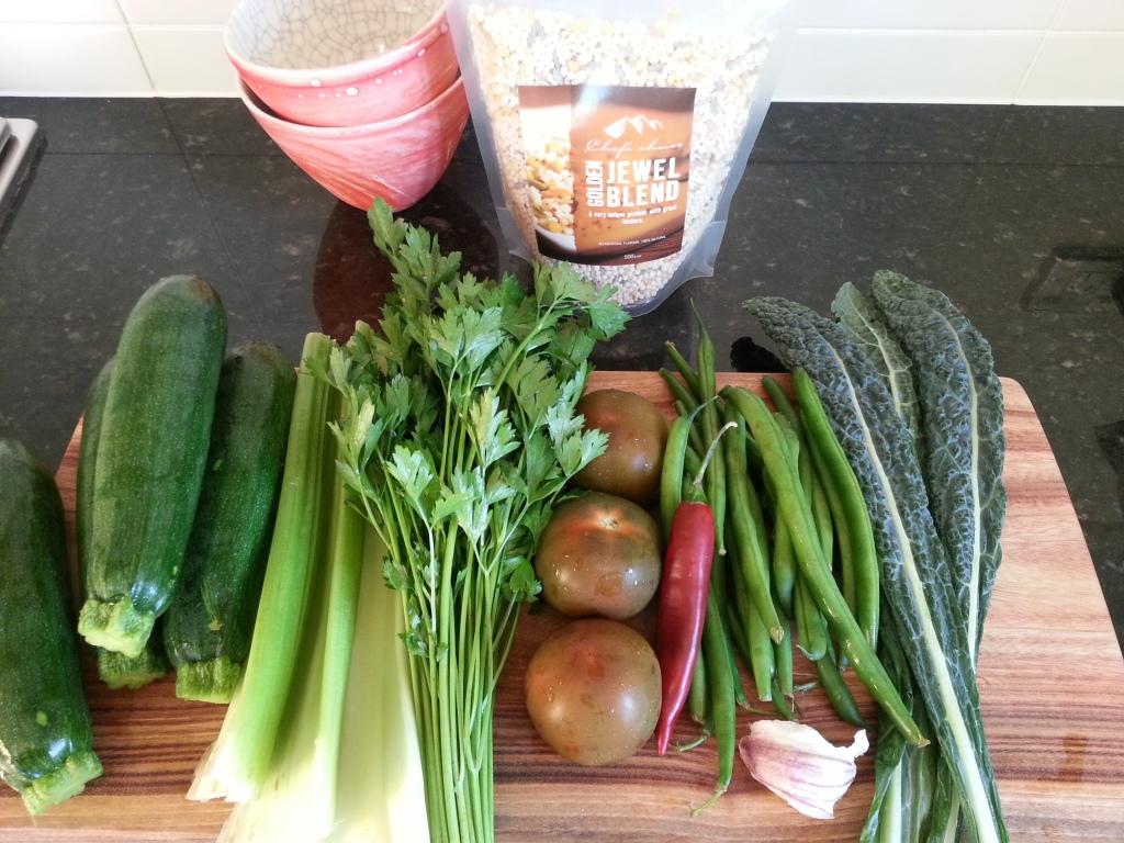 Balance soup ingredients