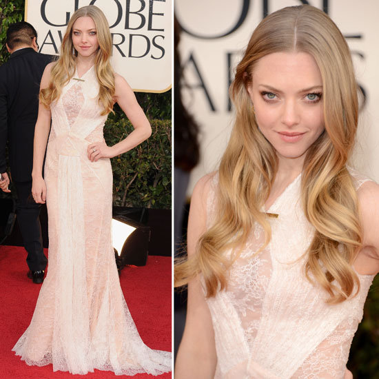 Amanda Seyfried in a etherial Givenchy dress