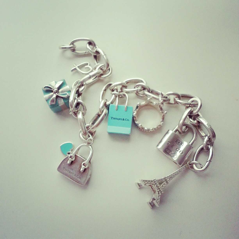 bracelet charms tiffany & co