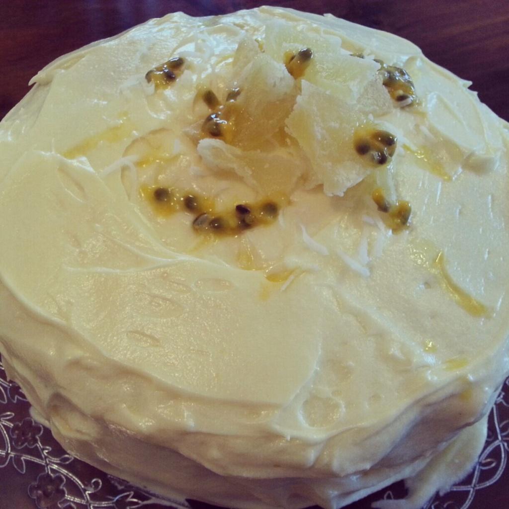 Melly's creation; Hummingbird Cake