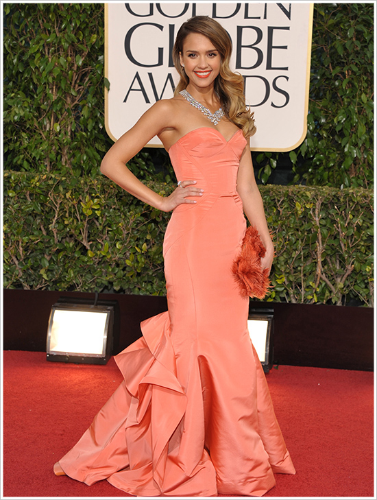 if I looked like Jessica Alba I wouldnt get anything done as I'd be staring at myself in the mirror all day....so damn beautiful! in Dior.