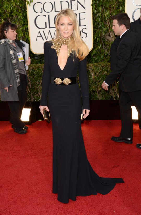 the gorgeous Kate Hudson in Alexander McQueen