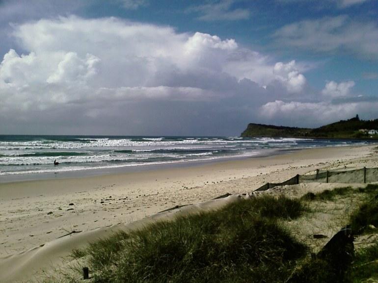 Lennox Head main beach