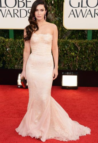 Megan Fox is an sexy renaissance angel in the Dolce & Gabbana dress