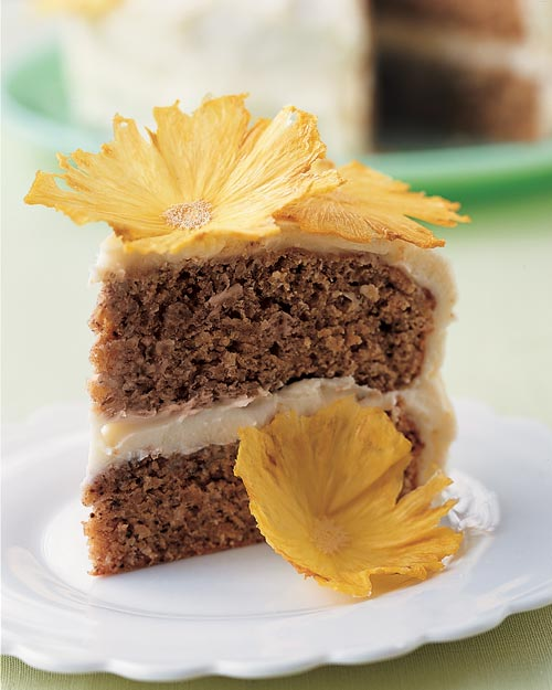 Martha Stewart's Hummingbird Cake with Cream Cheese Frosting