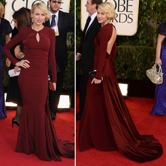 best dressed! Naomi Watts in Zac Posen