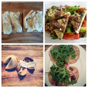 brekkie, lunch & dinner