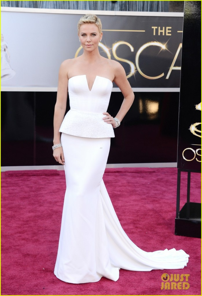 BEST DRESSED: Charlize Theron in Dior Couture