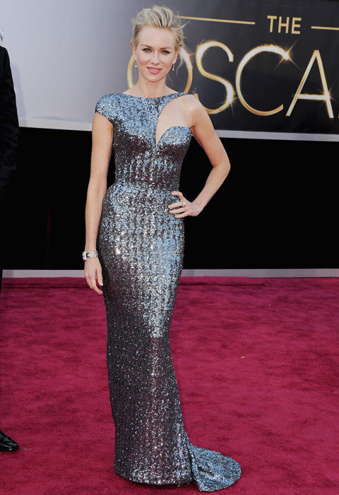 BEST DRESSED: Naomi Watts in Armani Prive