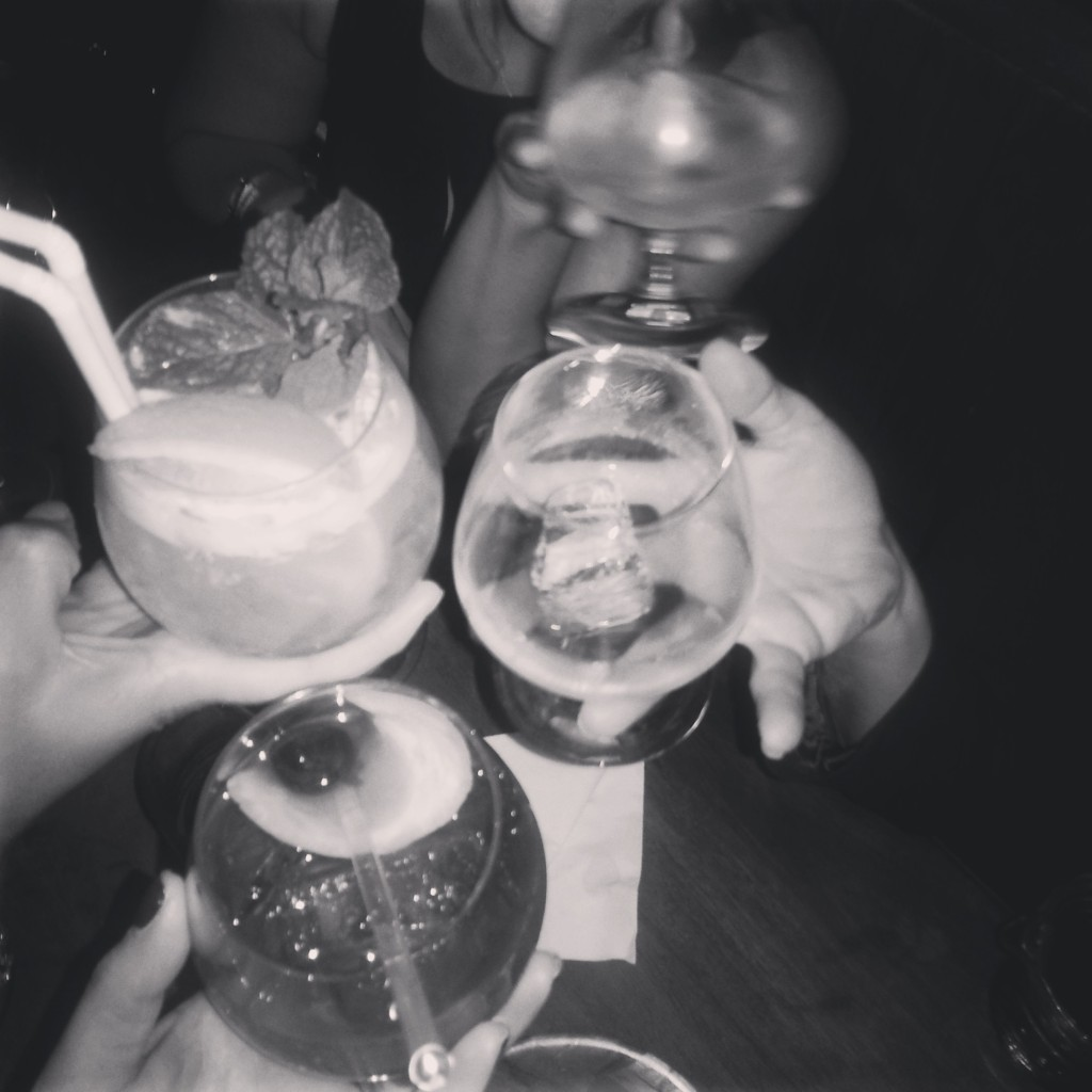 drinks with the girls