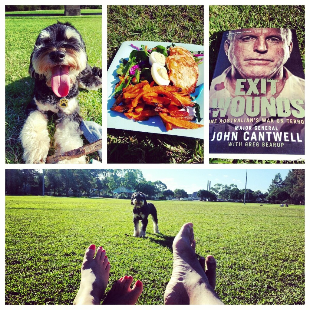Sunday session in the park