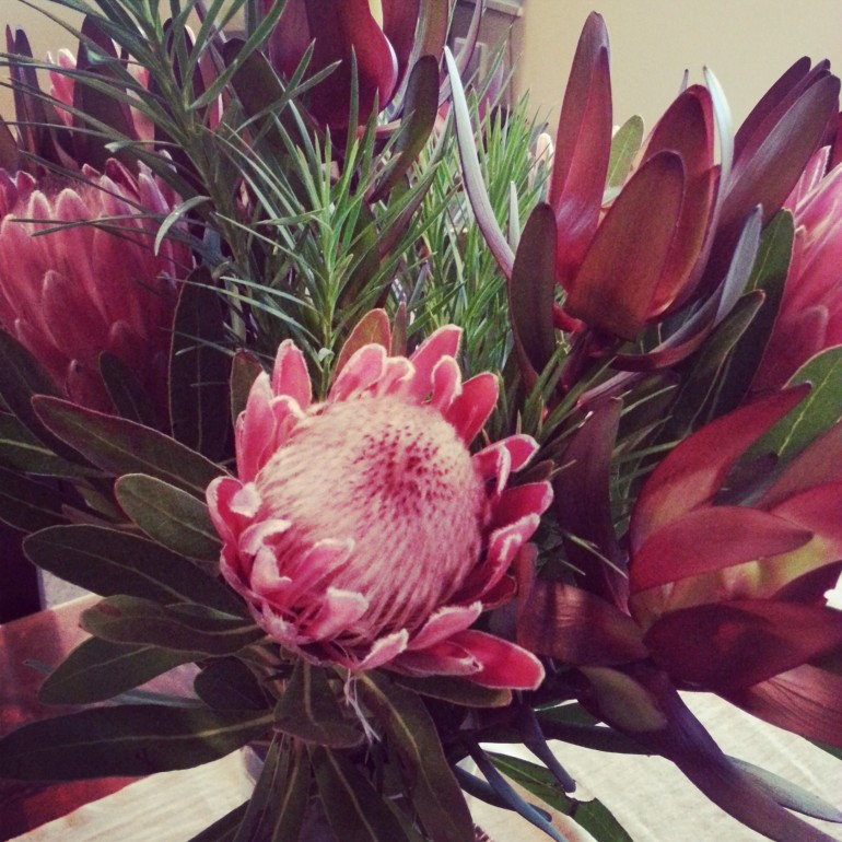 Friday blooms on my table