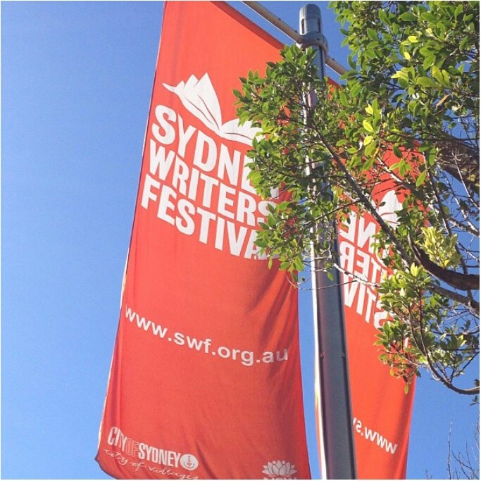 Sydney Writer's Festival; seeing Carlos Ruiz Zafon talk about his novels