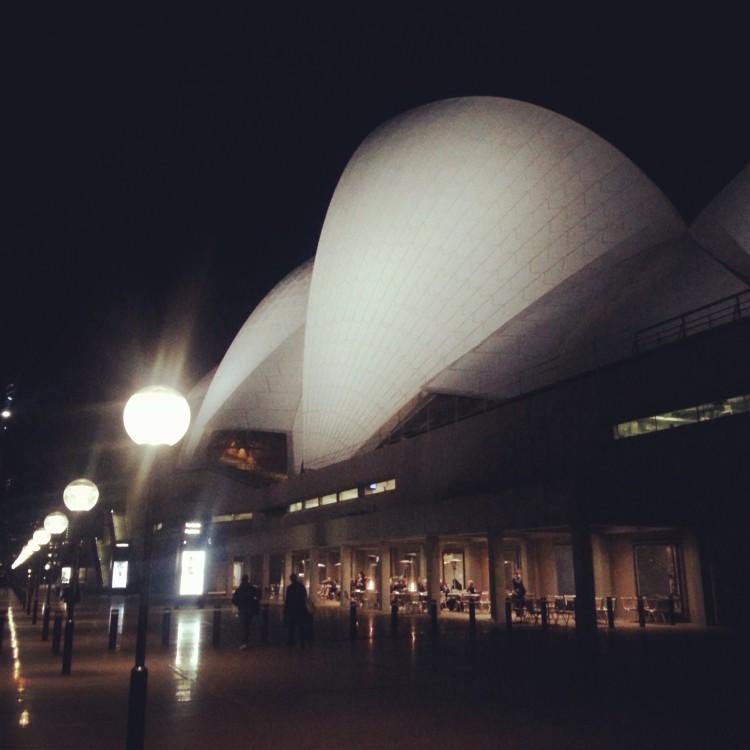 Thursday night Idina Mendel concert at the Opera House
