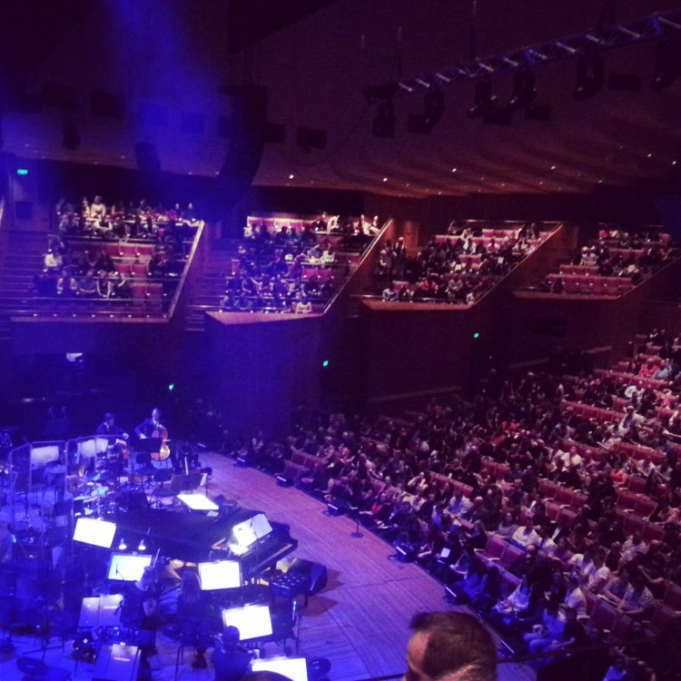 inside the Opera House...awaiting the talent