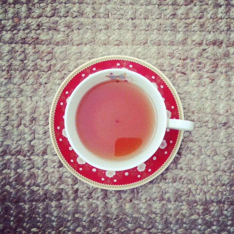 Sunday chill out sesh with my tea
