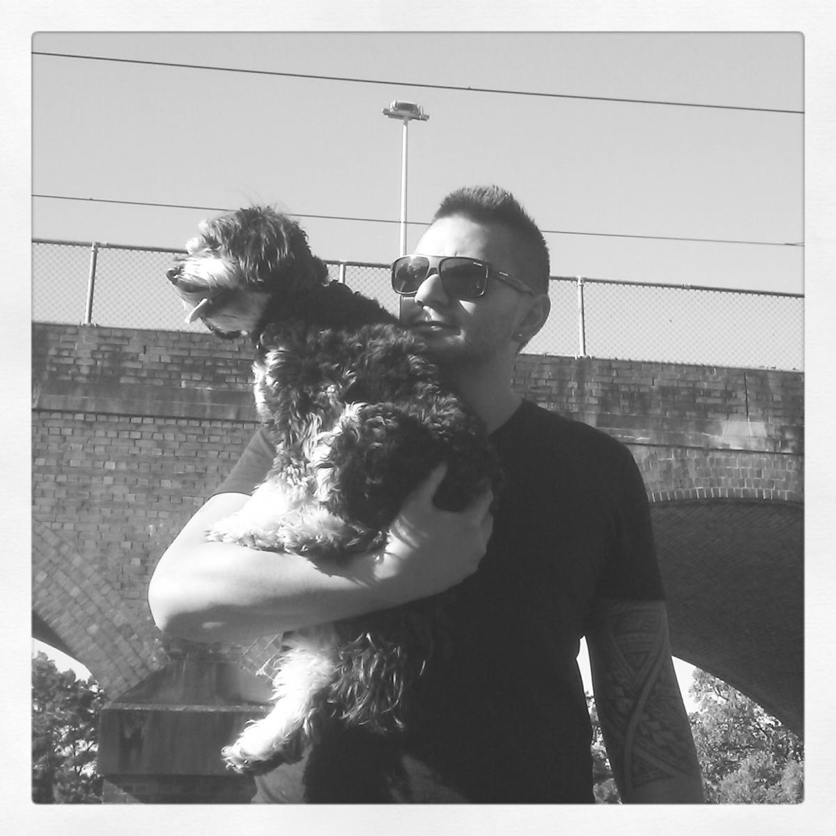 my boys! Jay & Harley