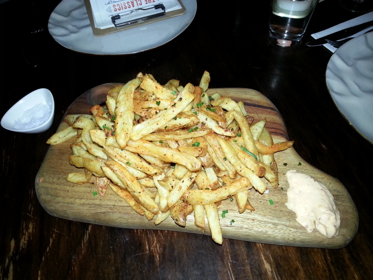 spiced fries
