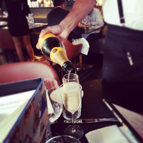 getting our Veuve on