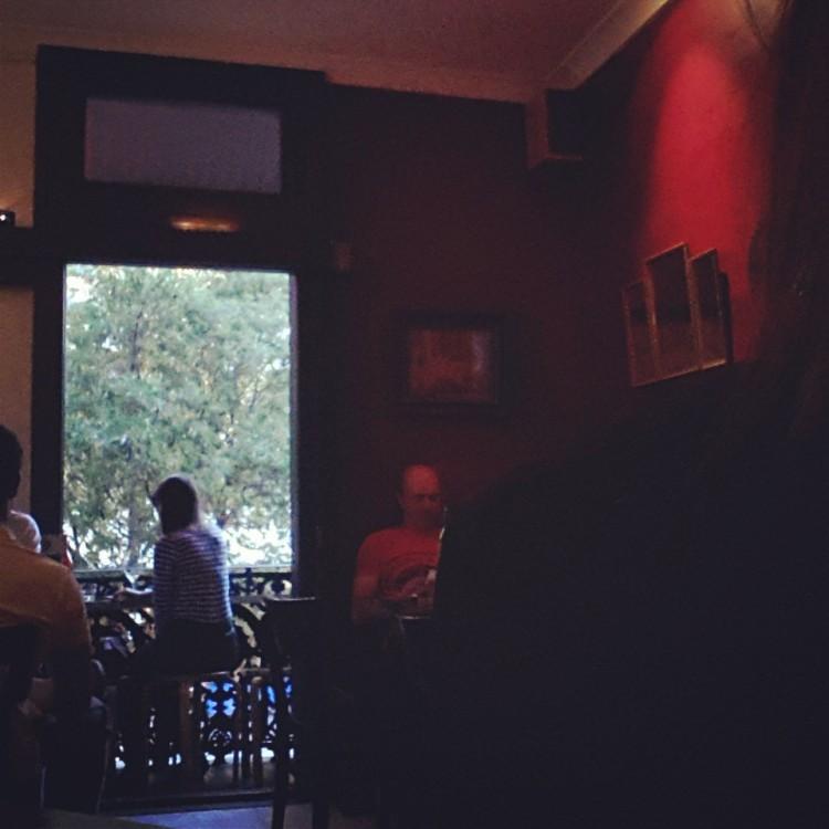 upstairs dining