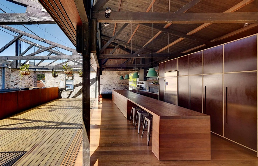 Dream house lilyfield warehouse conversion for Warehouses converted into homes