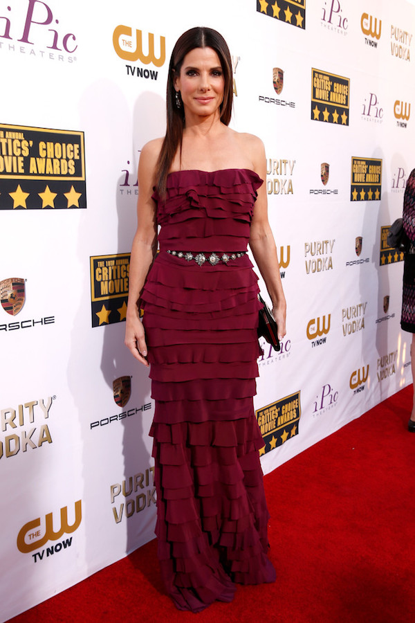 OMG amazing in Lanvin for the Critic's Choice Awards