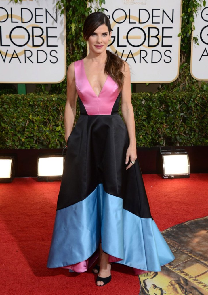 Fashion forward in Prabul Gurung for the Golden Globes