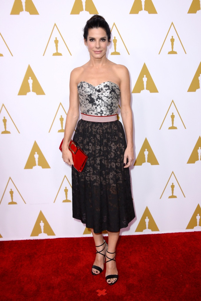 Smartly dressed in Stella McCartney chic for the Oscar Nominees Luncheon