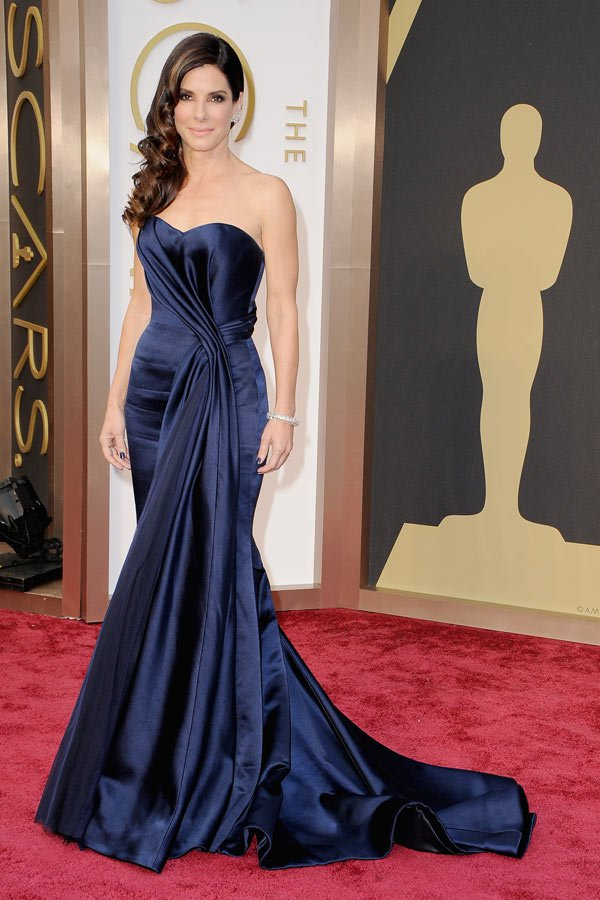 True Hollywood glamour in Alexander McQueen at the Academy Awards