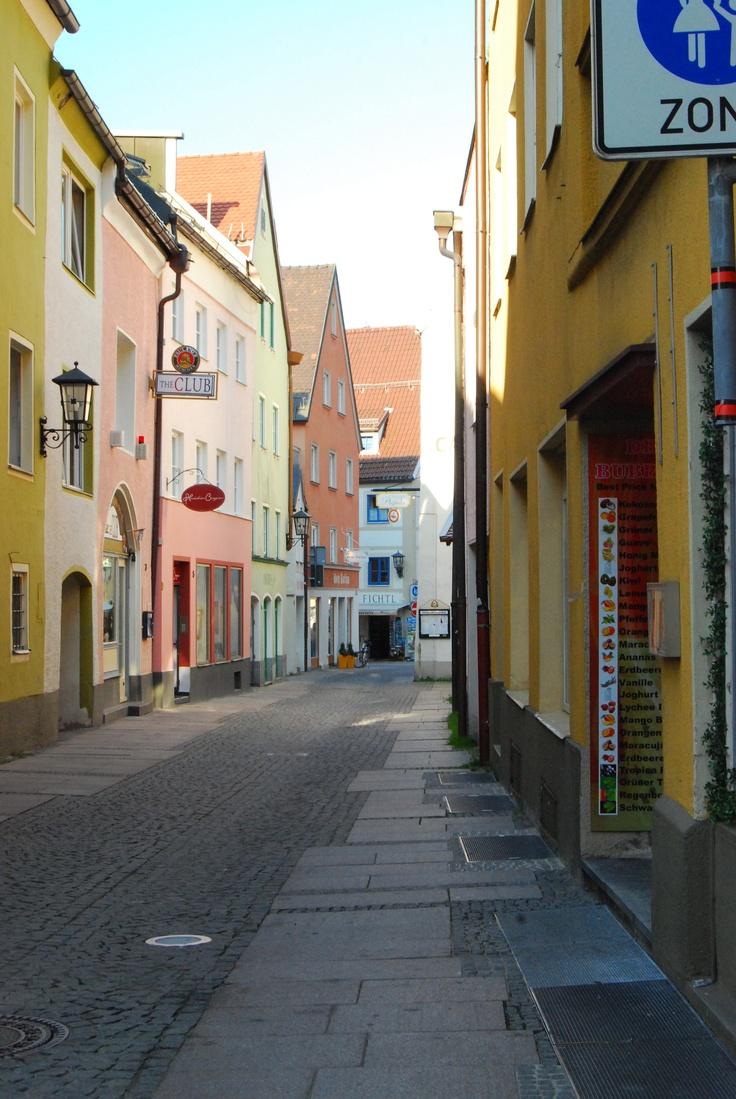 Fussen backstreets (pic via Pinterest)
