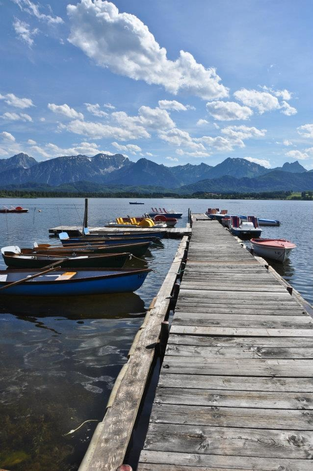 Forggensee jetty