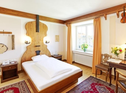 Hotel Hirsch (pic via their website) This was our room!