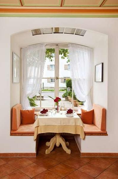 Hotel Hirsch (pic via their website) restaurant