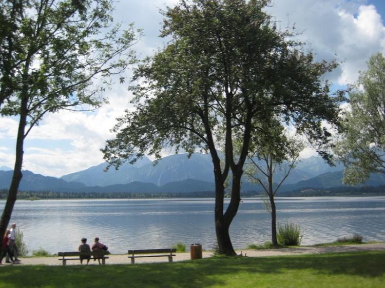 Forggensee lake