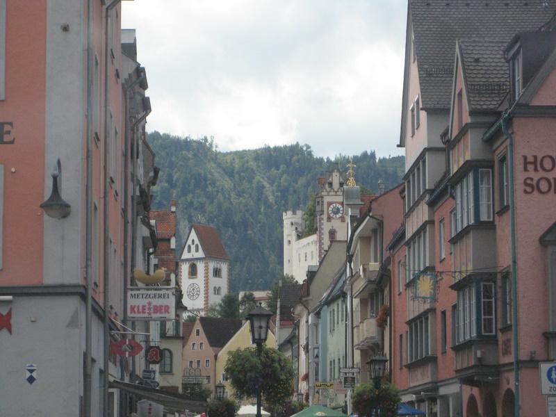 Fussen main street AKA Hauptstraße