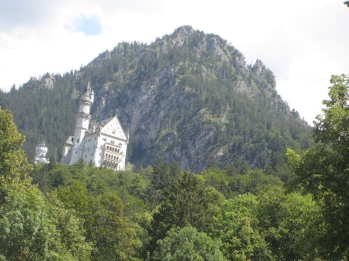 Neuschwanstein from a distance