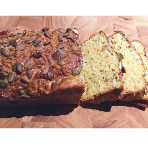 my rendition of Sarah Wilson's Paleo Inside Out Bread YUUUUUM!