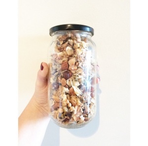 beautiful little clusters of deliciousness; paleo muesli